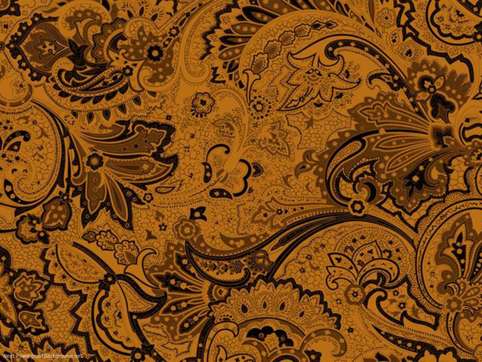 Batik Background For Presentation