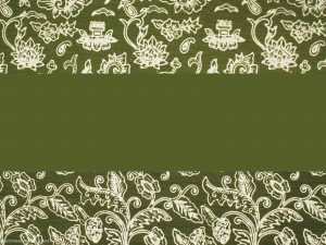 Batik Background For Presentation