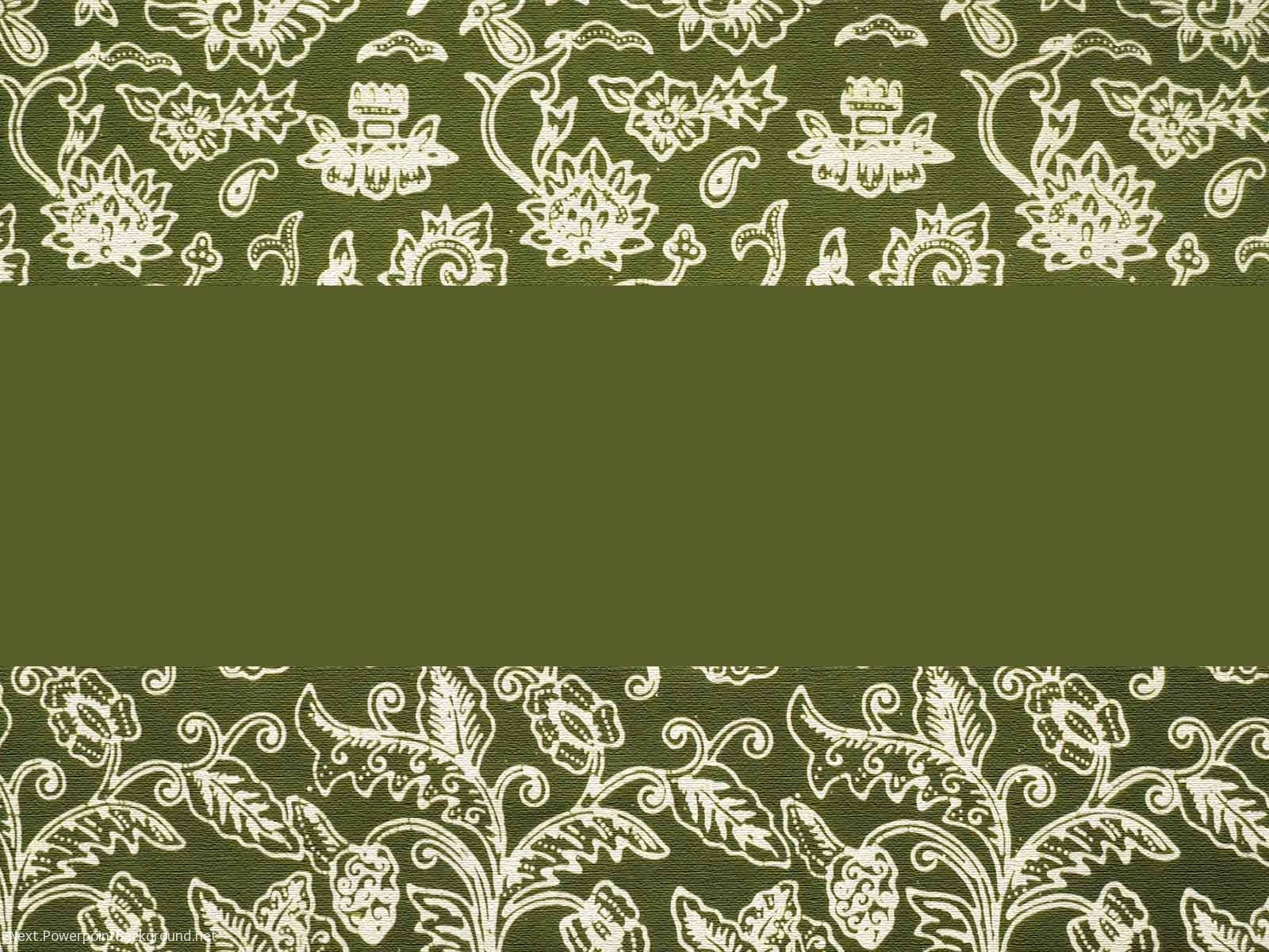 Batik Background Powerpoint