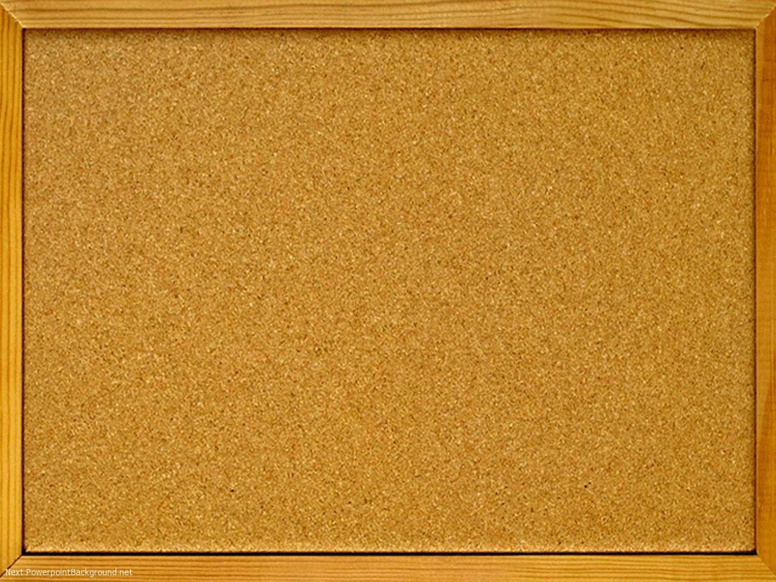 cork board powerpoint background next