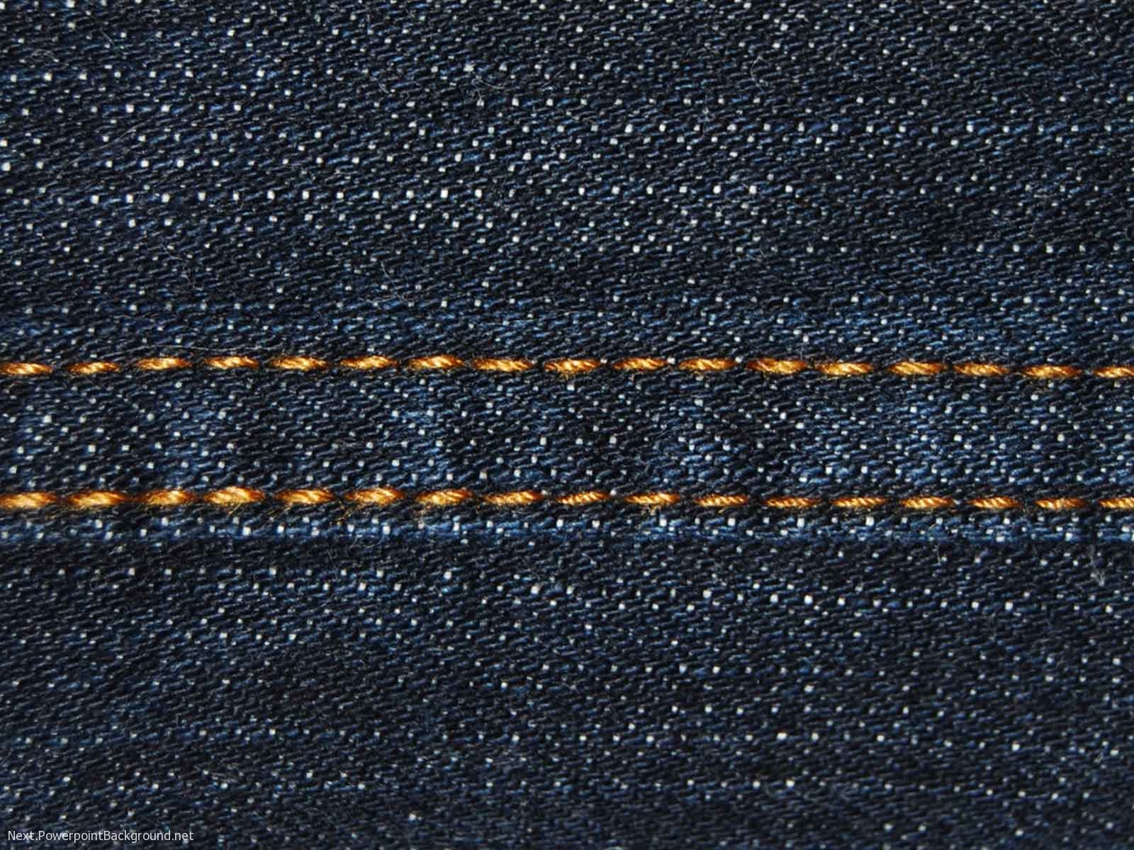 denim-fabric-powerpoint-background