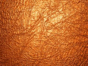 Leather Texture Background For Powerpoint